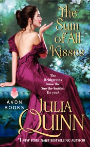 The Sum of All Kisses: Smythe-Smith Quartet # 3 by Julia Quinn: Excerpt and Giveaway