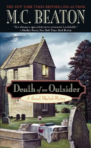AudioBook Review:  Death of an Outsider, Hamish Macbeth #3 by M.C. Beaton