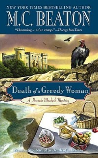 AudioBook Review Death of a Greedy Woman: Hamish Macbeth #8 by M.C. Beaton