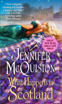 What Happens in Scotland by Jennifer McQuiston with Excerpt