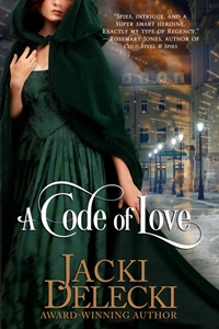 A Code of Love: The Code Breakers #1 by Jacki Delecki with Giveaway