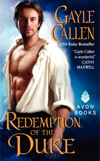 Redemption of the Duke by Gayle Callen with Excerpt and Giveaway
