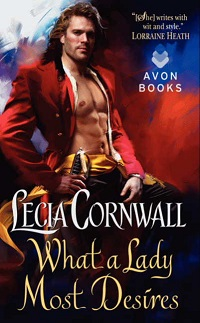What a Lady Most Desires: The Temberlay Series # 3 by Lecia Cornwall with Excerpt and Giveaway!