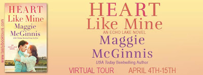 Heart Like Mine: Echo Lake #2 by Maggie McGinnis with Giveaway