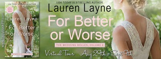 For Better or Worse: The Wedding Belles #2 by Lauren Layne