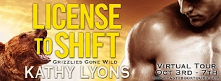 License to Shift: Grizzlies Gone Wild #2 by Kathy Lyons
