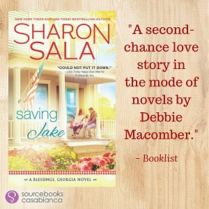 Saving Jake: Blessings, Georgia #3 by Sharon Sala