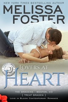 Lovers At Heart: The Bradens at Weston, CO #1 by Melissa Foster