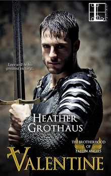 Valentine: The Brotherhood of Fallen Angels #1 by Heather Grothaus