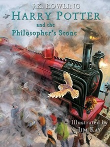 Harry Potter and the Philosopher's Stone (Illustrated Edition) by J.K. Rowling, Jim Kay