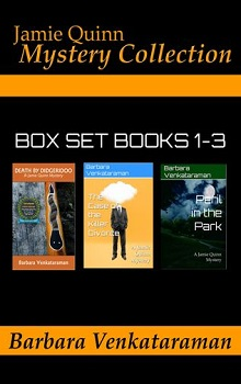 Jamie Quinn Mystery Collection Box Set  by Barbara Venkataraman