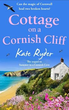 Cottage on a Cornish Cliff by Kate Ryder